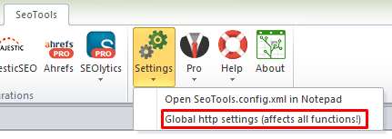 Global HTTP Settings location